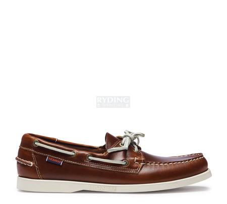Sebago Docksides Brown Oiled Waxy