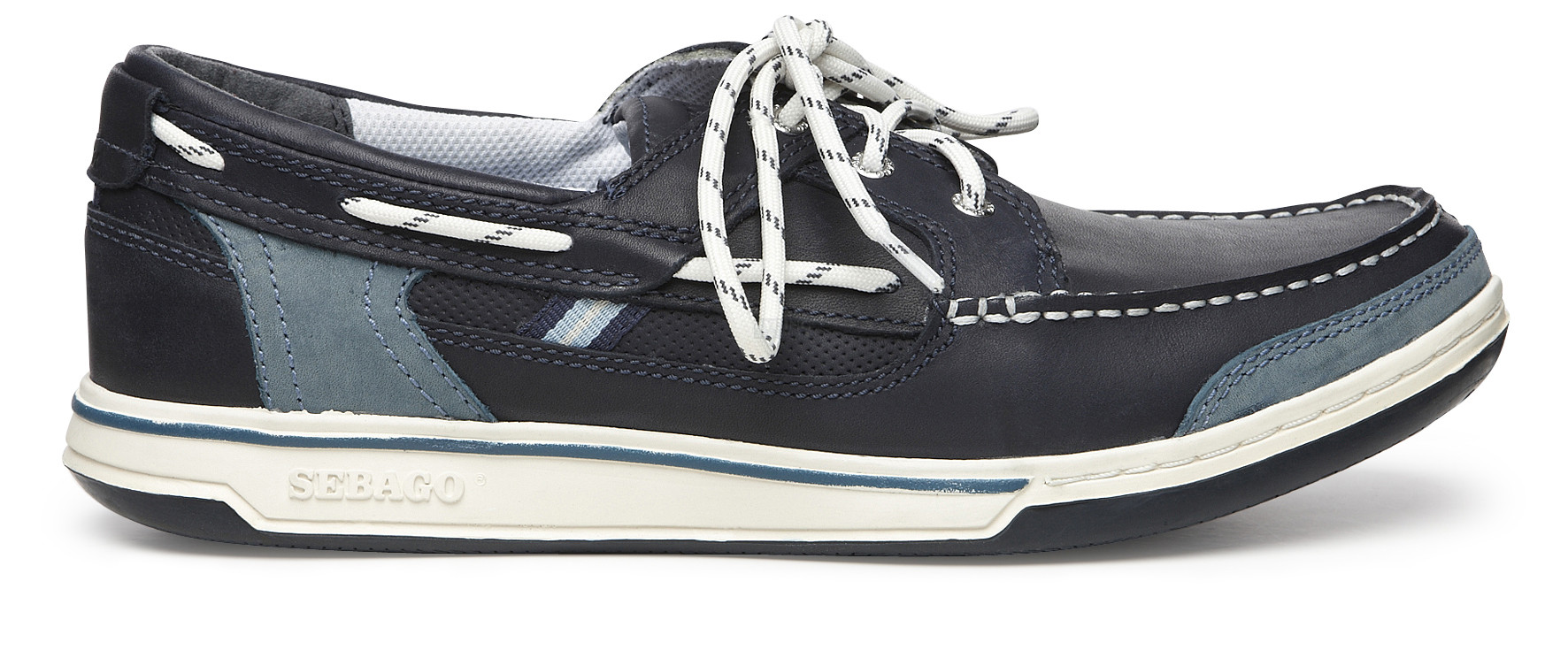 Sebago Triton Three-Eye Blue/Black