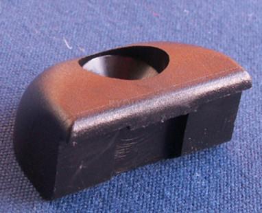 Endestykke 32mm - Sort (delrin)