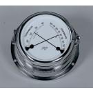 Schatz komfortmeter °C, og % rel. luftf. - forkromet messing